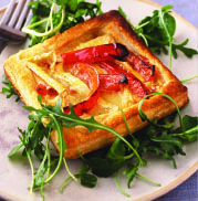 Camembert & Red Pepper Tarts
