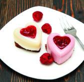 Raspberry & Vanilla Panna Cotta
