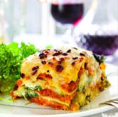 Squash & Spinach Lasagne